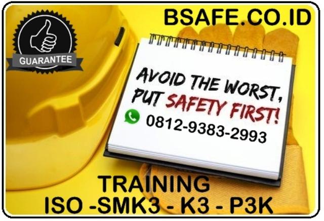 TRAINING SERTIFIKASI ISO SMK3