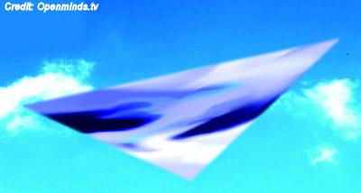 'Massive' Metallic Triangular UFO Reported Over Georgia