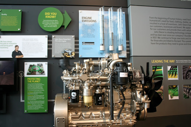 John Deere engine display