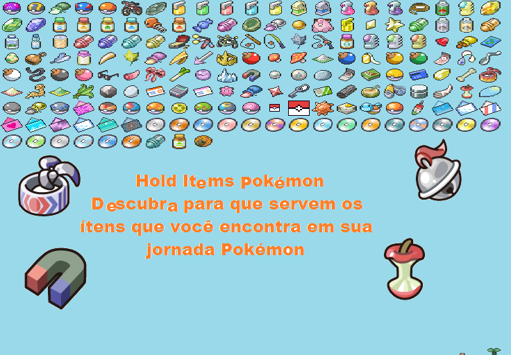 Best Pokemon Hold Items In Images | Pokemon Images