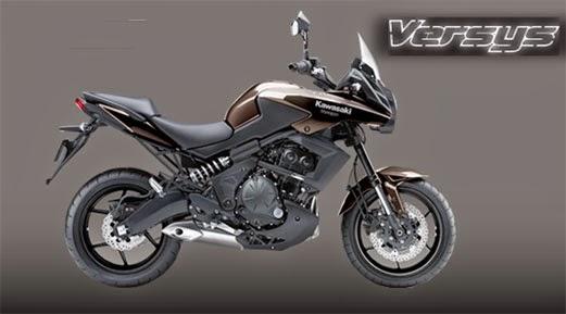 Harga Dan Spesifikasi Motor Kawasaki Versys Terbaru