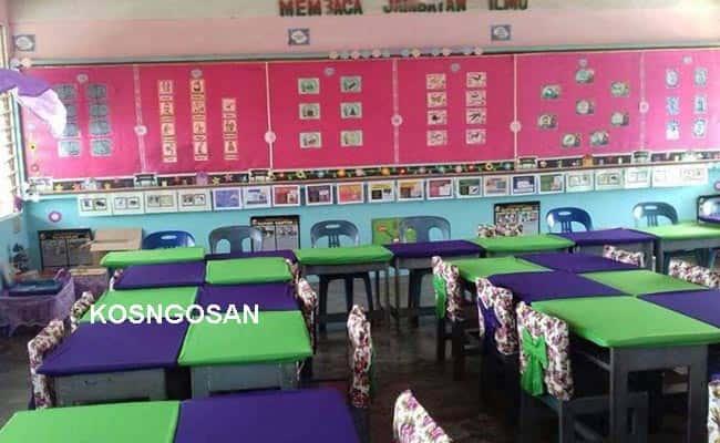 contoh gambar meja sekolah