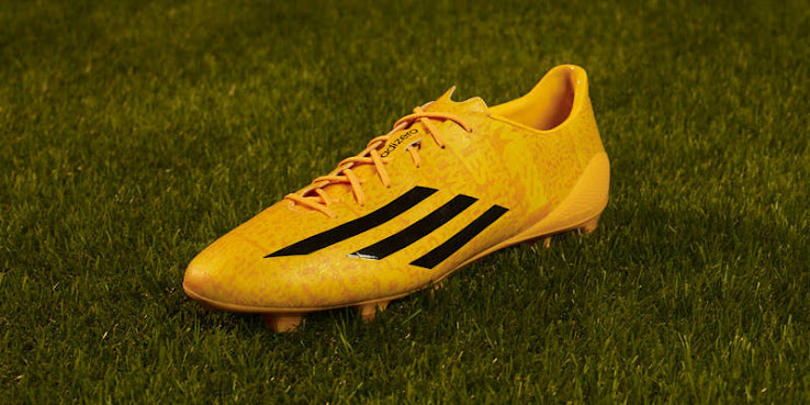 Gold Adidas Adizero Messi 14-15 Boot Released - Footy Headlines 4d5ef734e4982