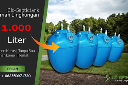 Harga Bio Septic Tank Bandung, Jual Murah Bergaransi
