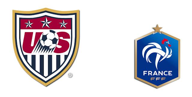 France vs USA Full Match Replay 09 June 2018