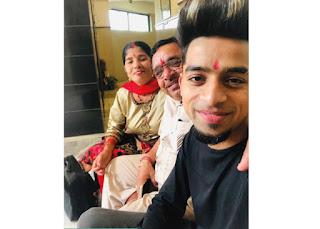 Sumit Saini Family