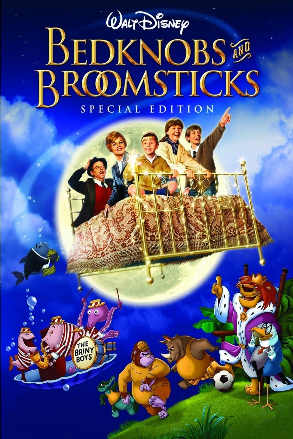 Watch Bedknobs and Broomsticks (1971) Online For Free Full Movie English Stream