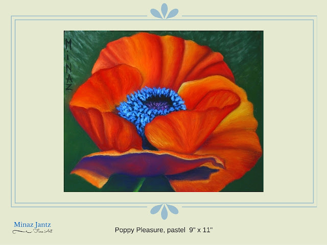 Poppy Pleasure by Minaz Jantz