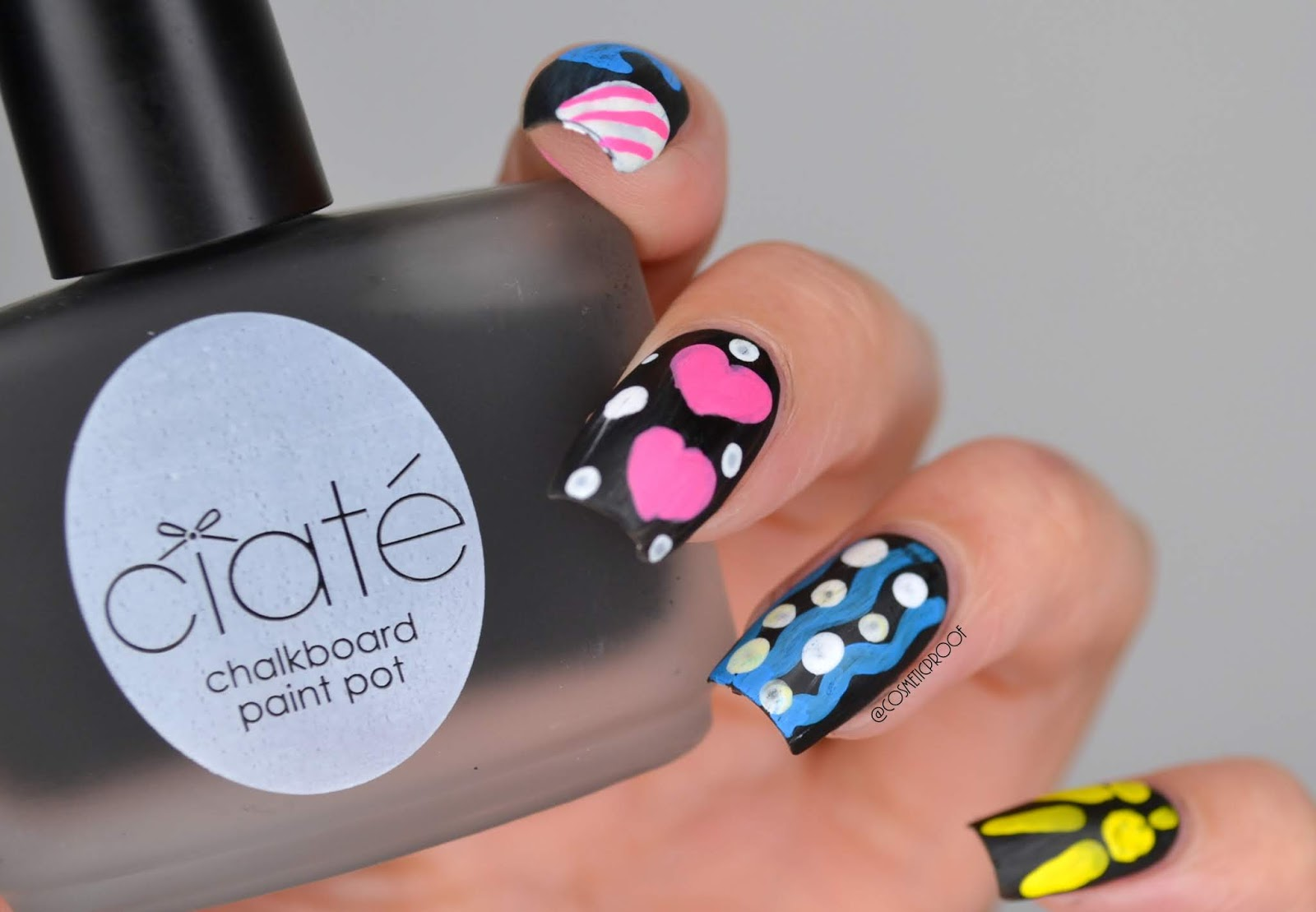 NAILS | Ciate Chalkboard Nails #CBBxManiMonday | Cosmetic Proof ...