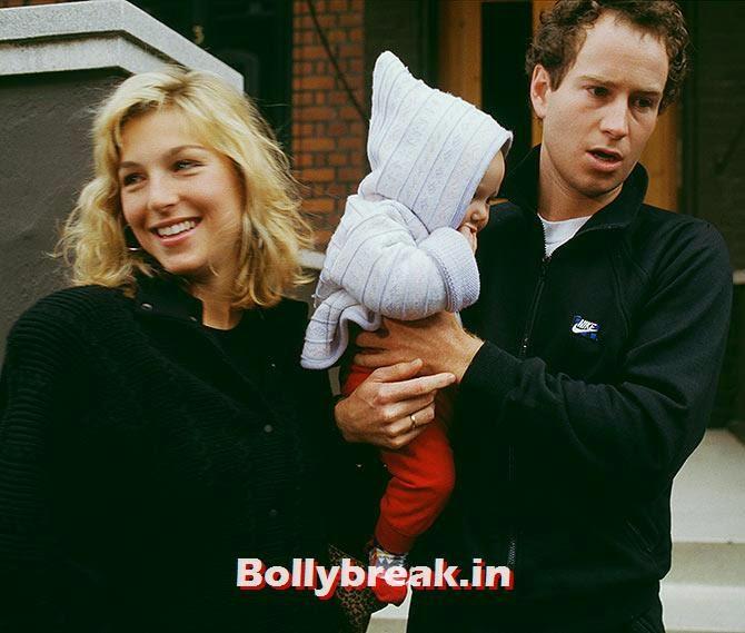 John McEnroe and Tatum O'Neal, List of Sports star break-ups Pictures - Cricket, Tennis, Golf, Basketball