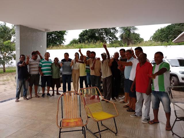 Daniela Tema recebe amigos e aliados políticos de Tuntum e região em sua residência.