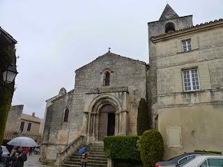 Iglesia de San vicente, Les Baux-de-Provence.