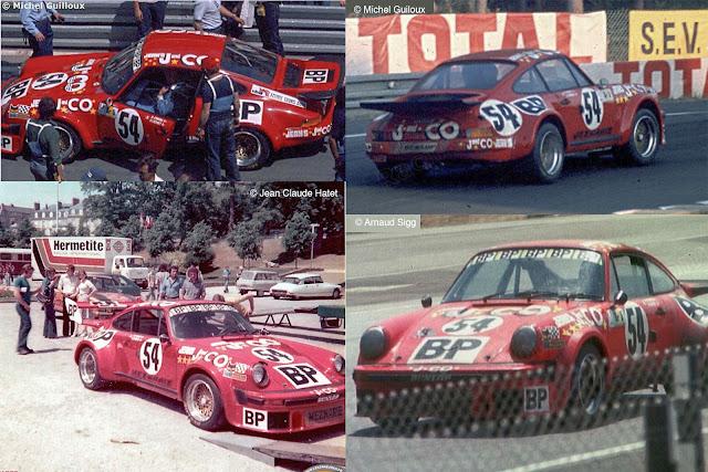 Porsche 934 24h Le Mans Class Winner #54 1976
