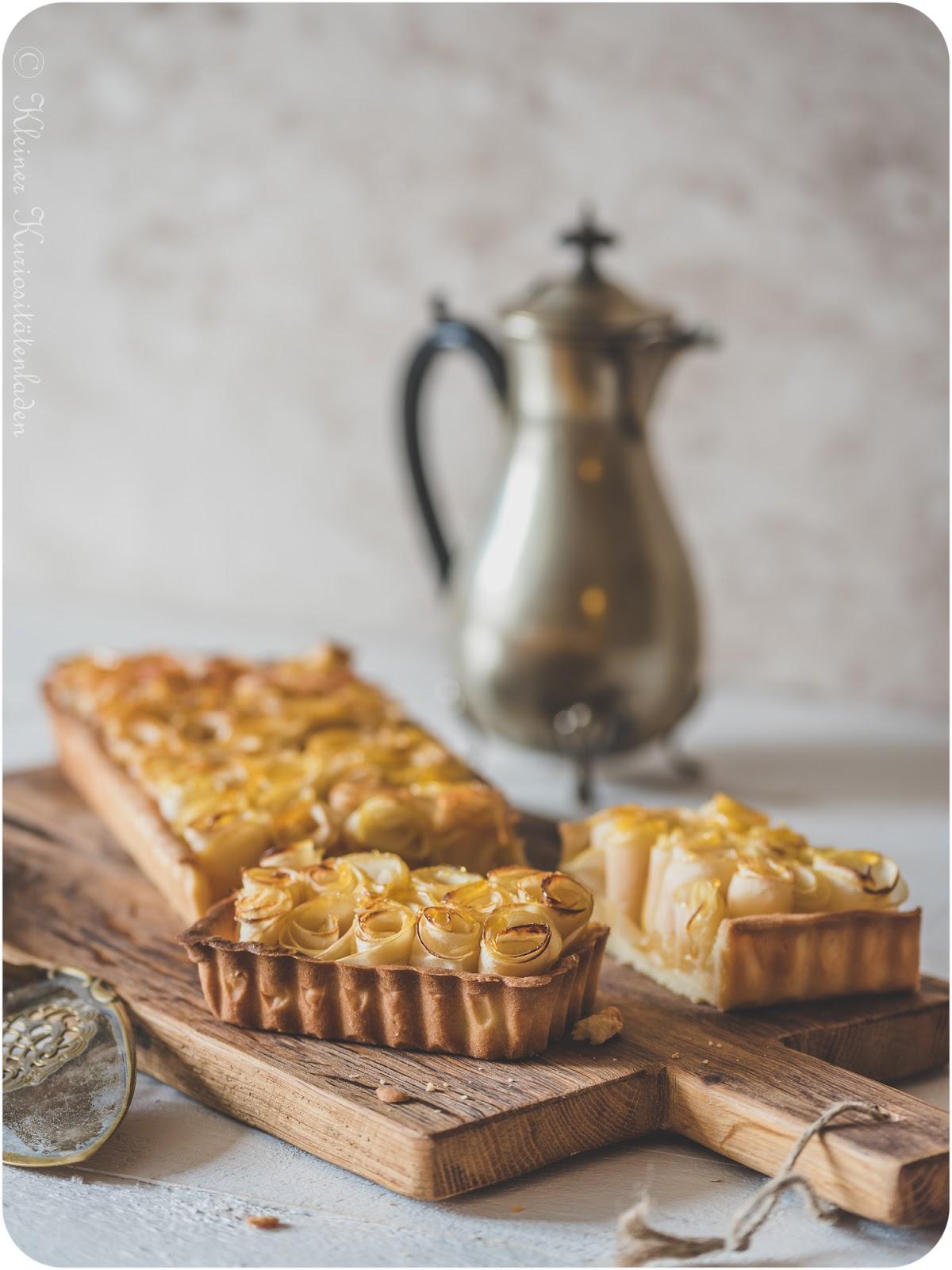 Kleiner Kuriositätenladen: Tarte aux Pommes | Apfeltarte, 4x anders