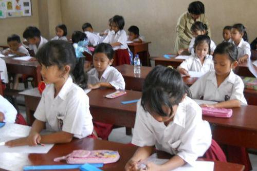 Jam Belajar Bagi Siswa Sekolah Dasar Dikurangi