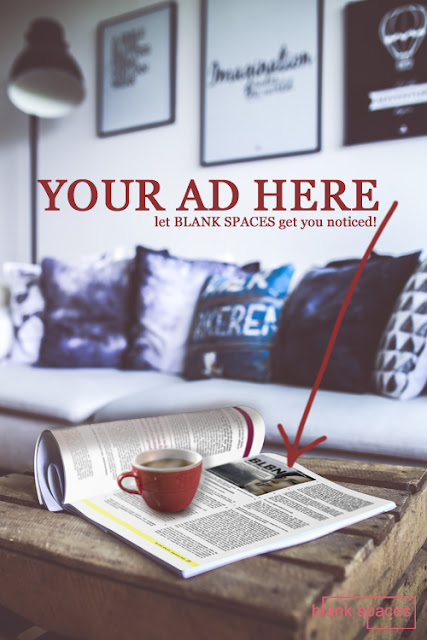 advertise with blank spaces magazine, cheap advertising