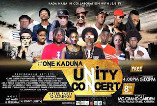 Kada Naija in collaboration with JejeTv present #OneKaduna UNITY CONCERT