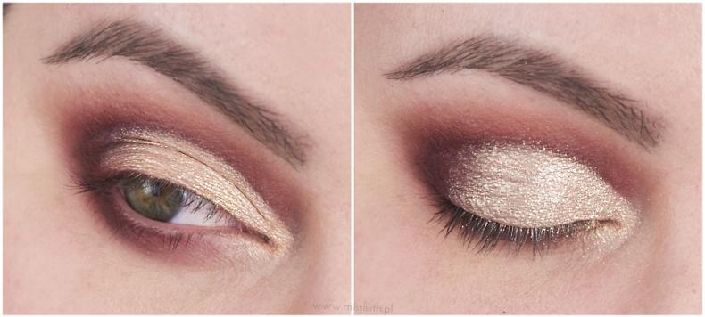 makijaż cut crease krok po kroku tutorial blog zdjęcia