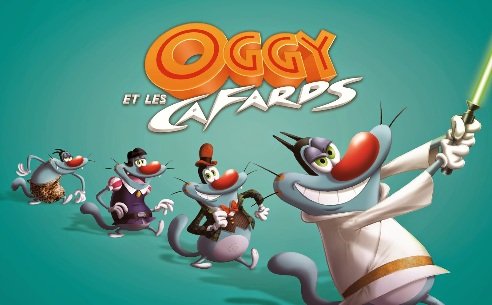 Disney HD Wallpapers: Oggy E As Baratas HD Wallpapers