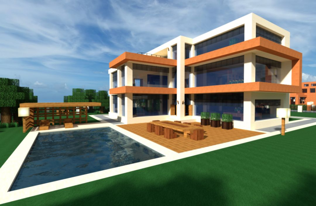 Minecraft City House Design   Wallpapers Beautiful