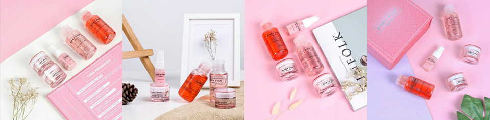 baby pink skin care