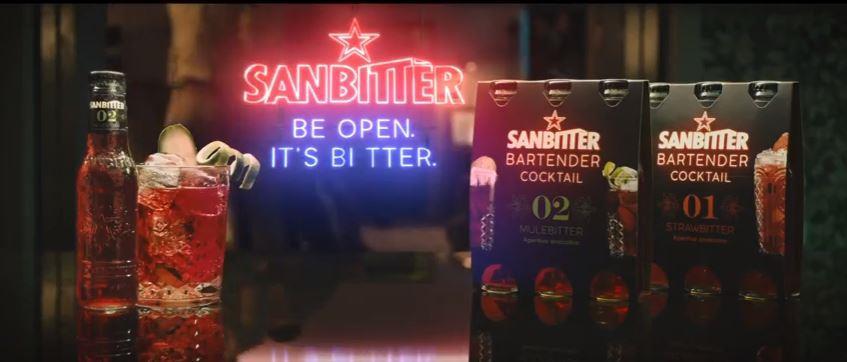 Canzone Sanbitter Pubblicità Bartender Cocktail, Spot Maggio 2018