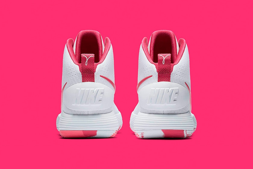 """d1bb59dbf99c The Nike React Hyperdunk 2017 """"Kay Yow"""" will release sometime in September  (in time for Breast Cancer Awareness month  October) for  140 USD at Nike s  ..."""