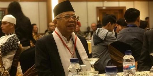 Awali Kampanye Terbuka di Banten, Ma'ruf: Supaya Rakyat Langsung pilih