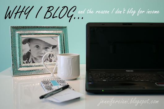 Why I don't blog for profit...