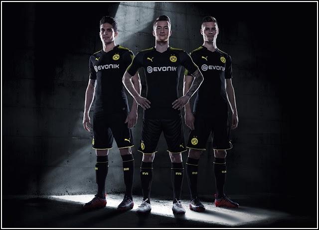Borussia Dortmund 17-18 Away Kit