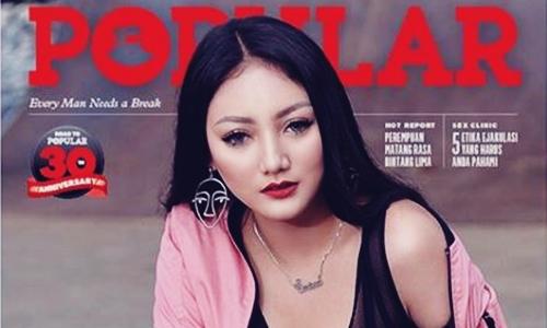 Biodata Sassha Carissa Si Model POPULAR Magazine Tips Malam Jumat