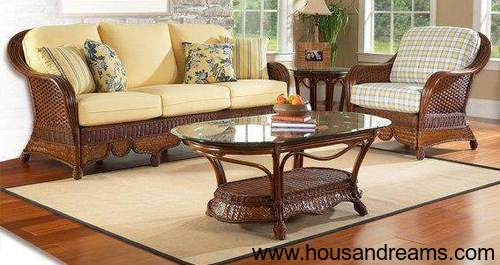 Cane Sofa Set Manufacturer & Supplier in kolkata