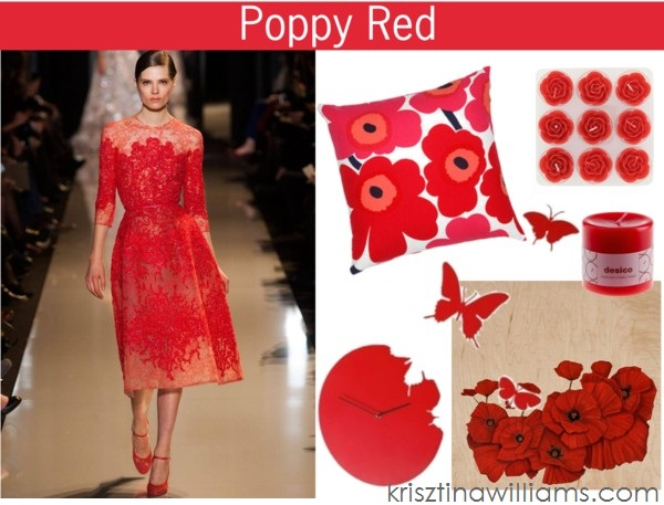 Home Decor Trend: How To Decorate With Poppy Red