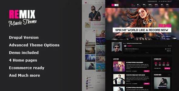 Music-Band-Club-Party-Event Commerce theme