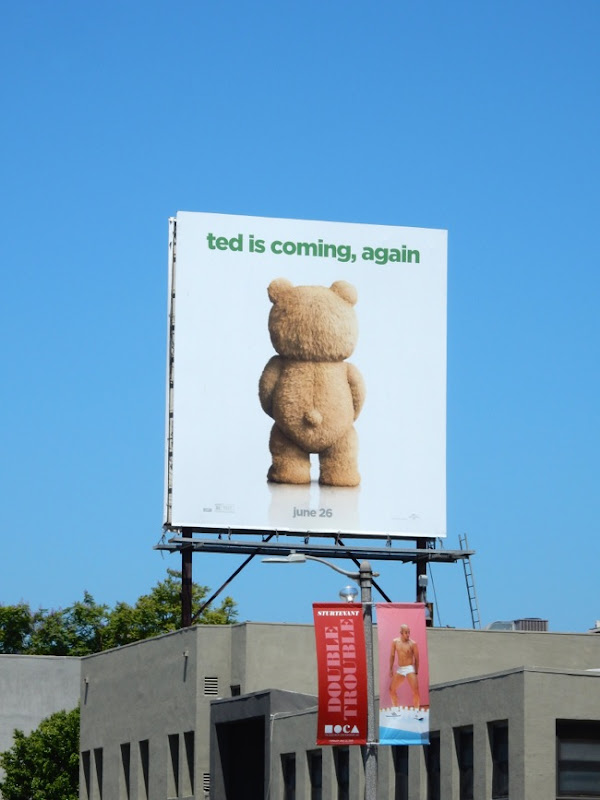 Ted 2 movie billboard