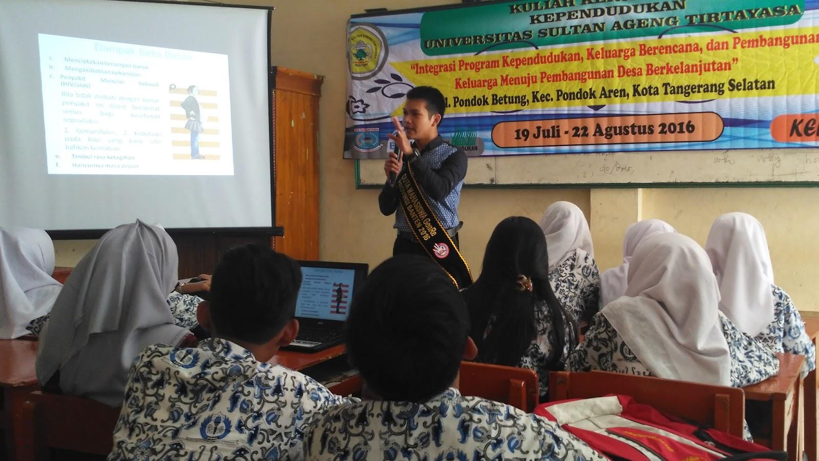 Kegiatan ini menjadi wujud aksi nyata untuk mengkampanyekan program GenRe kepada kalangan Remaja