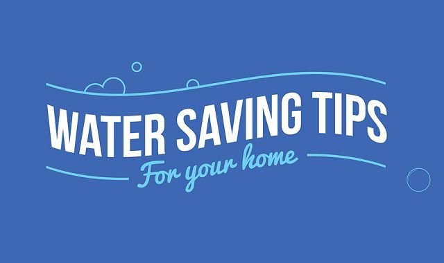 Water Saving Tips for the Home