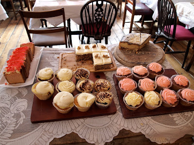 Soho's Secret Tearoom London cakes