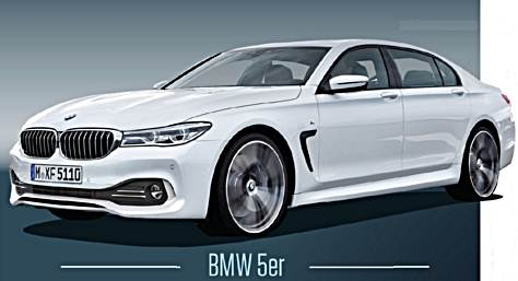 2017 bmw g30 5 series sedan rendering auto bmw review. Black Bedroom Furniture Sets. Home Design Ideas