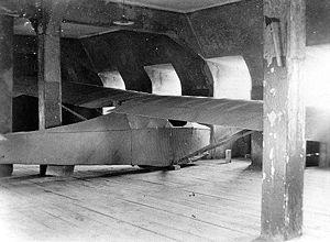 Fotografía planeador de Colditz