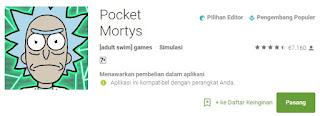 Pocket Mortys Game Android Terbaik
