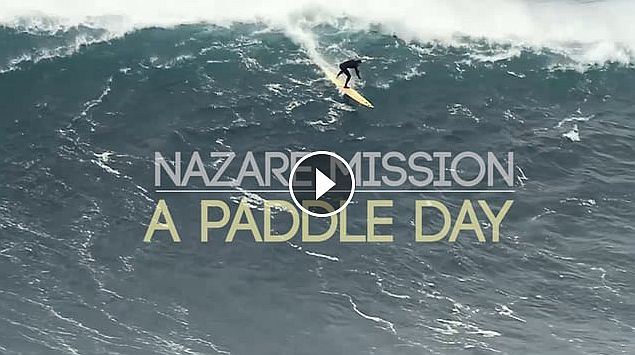 NAZARE MISSION - A PADDLE DAY