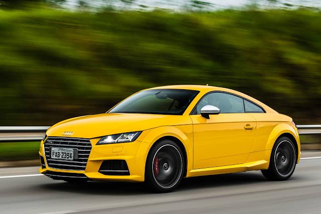 Novo Audi TTS 2016 - Brasil
