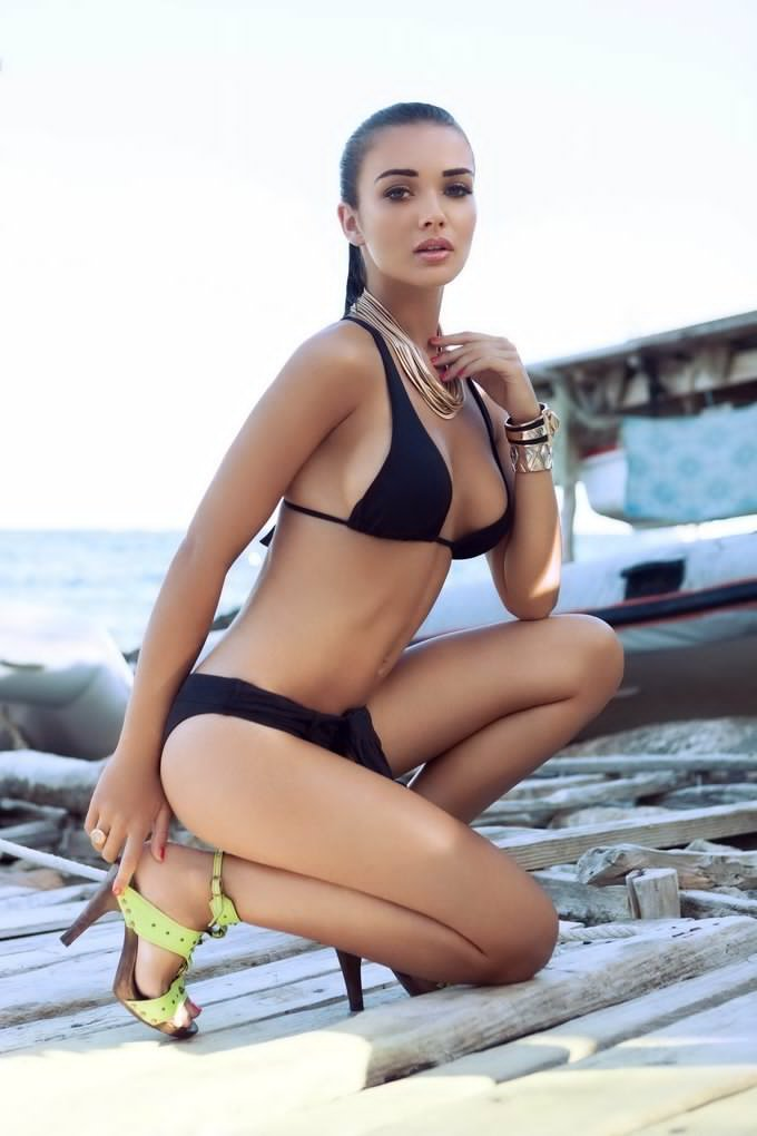 Amy Jackson Bikini Photoshoot