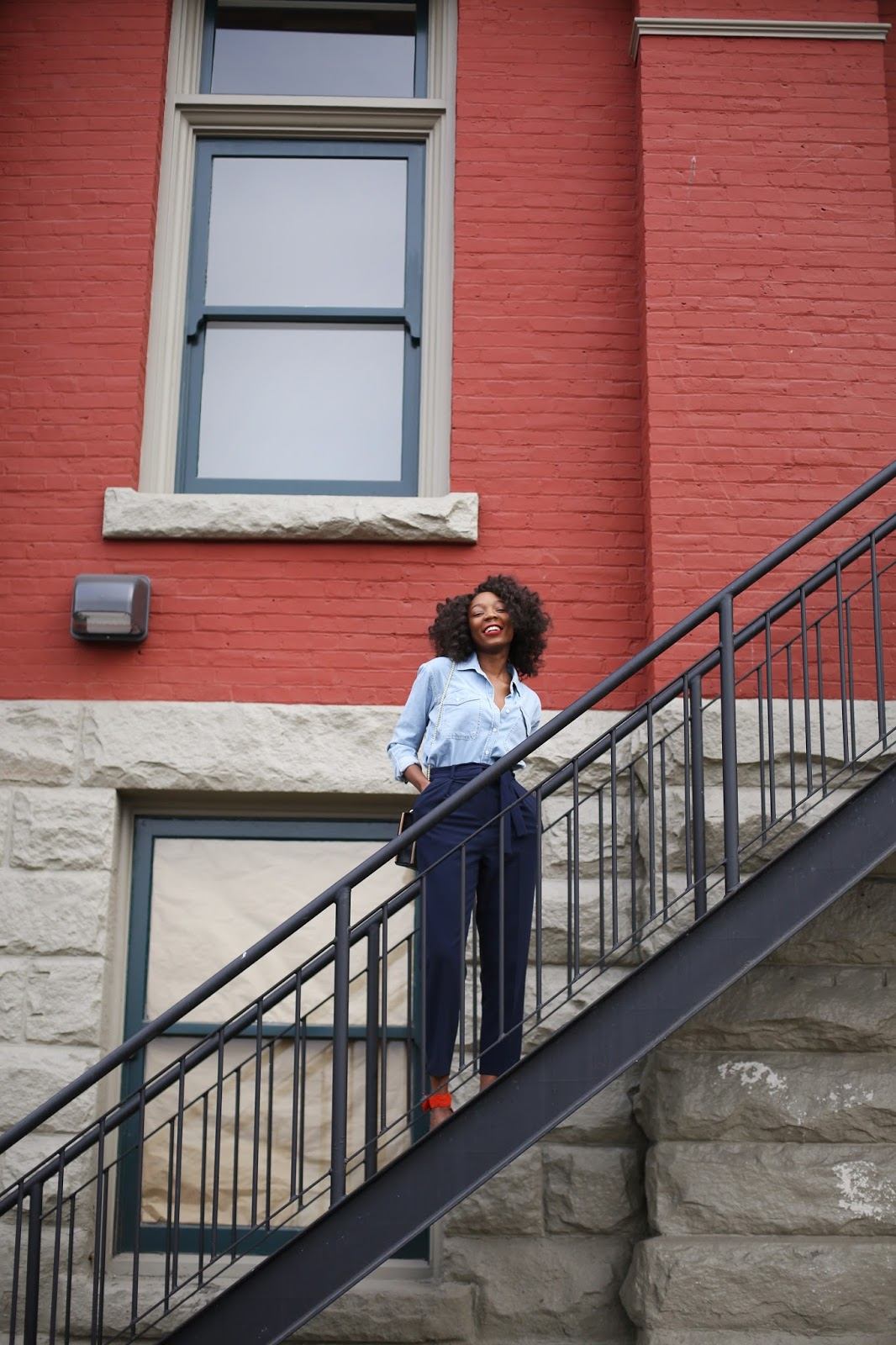 Vancouver blogger,chic denim look, www.thecocopolitan.com