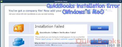 QuickBooks Installation Error