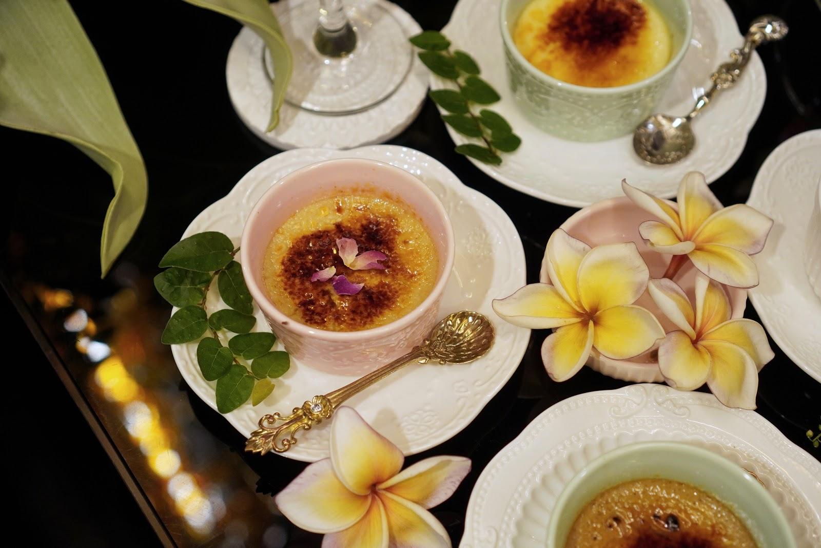 台南中西區美食【Moment烤布蕾專賣店】玫瑰烤布蕾