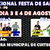 Prefeito de Cuitegi divulgou programação da Festa de Santana 2018, no programa semanal da prefeitura.