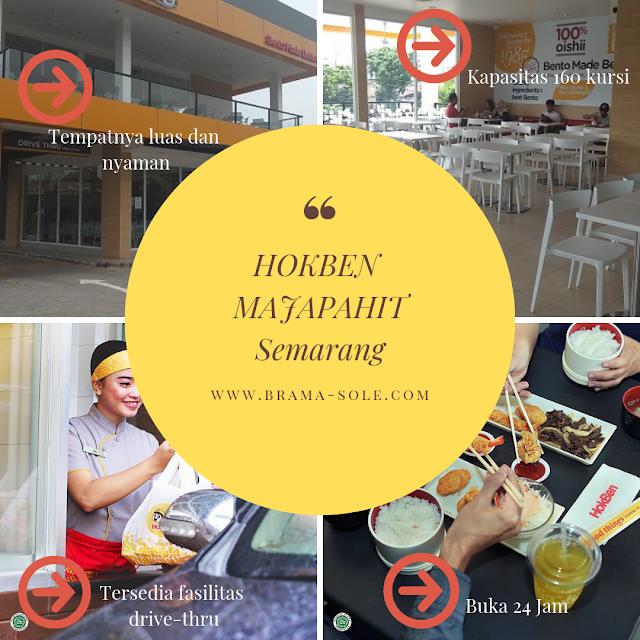 Hokben Majapahit Semarang, Tempat Makan Tenang dan Lapang Bersama Keluarga