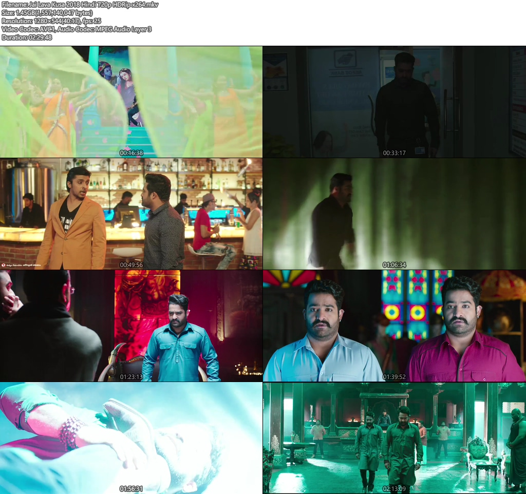 Jai Lava Kusa 2018 Hindi 720p HDRip | 480p 400MB | 200MB HEVC Screenshot